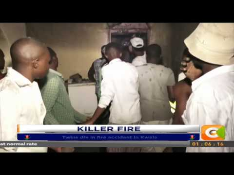 Twins die in fire accident in Kwale