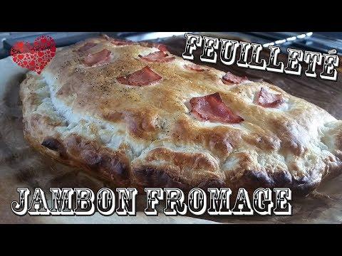 feuillete-jambon-fromage