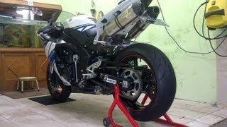For Sale..MOGE Yamaha R1 2011 TITANIUM Leo Vince SBK High RPM