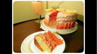 How To Make A Gradient Pink Lemonade Cake