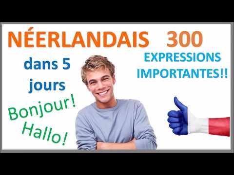 Apprenez le néerlandais en 5 jours - Conversation pour les débutants