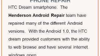 Henderson Android Repair -- The Android Operating System
