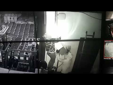 """Mais de 20 policiais fazem buscas por criminosos que invadiram a fazenda """"Malu"""" nesta madrugada: Veja vídeo"""