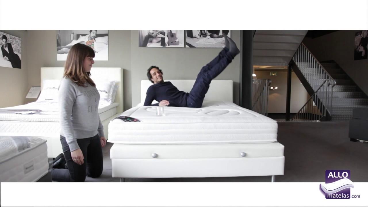 matelas heveane pirelli test par michael allomatelas youtube. Black Bedroom Furniture Sets. Home Design Ideas
