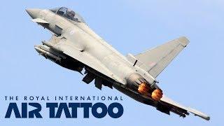 RIAT 2011 - BAE Systems Typhoon FGR4 Rehearsal Display