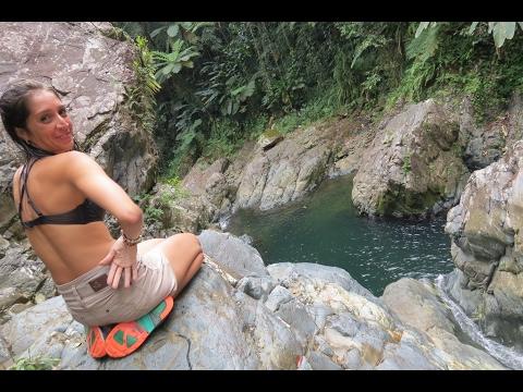 Flips on Rio Tinajas Fajardo, Puerto Rico Vlog 3