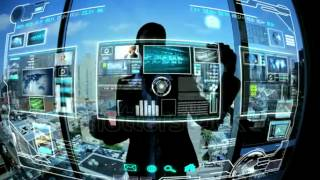 Montage Images Business Touch Screen Technology Stock Footage Video 3325052   Shutterstock