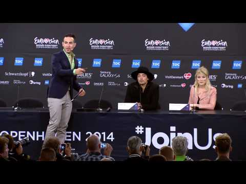 ESCKAZ in Copenhagen: The Common Linnets (The Netherlands) press-conference