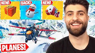 Everything Epic Didn't Tell You In The PLANE Update! (Presents, New Fish + MORE) - Fortnite Season 5