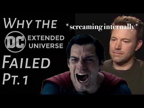 Why the DCEU Failed: Pt.1 Man of Studio Interference