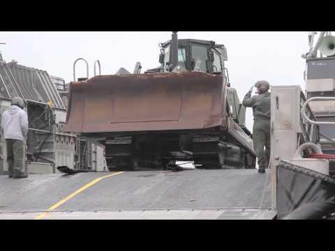 U.S. Marines Bulldozer