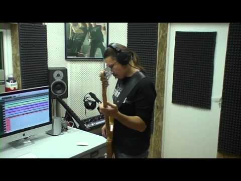Запись бас-гитары для сингла группы Кипелов