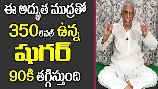 Mudra for Diabetes - Fight Diabetes with Effective Mudra || D Prakash Rao || SumanTV Organic Foods