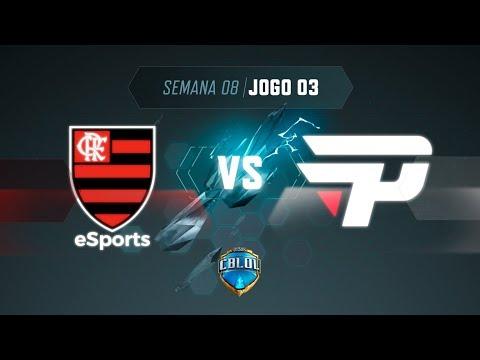 CBLoL 2019: 2ª Etapa - Fase de Pontos   Flamengo x paiN Gaming (Jogo 3)