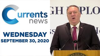 Currents News full broadcast for Wed, 9/30/20 (Catholic news)