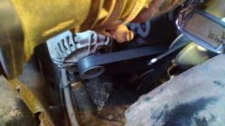 замена ремней гидроуселителя и генератора уаз Патриот