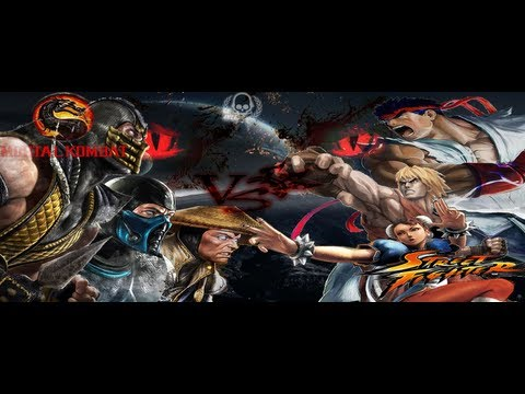 Mortal Kombat 9 vs Street Fighter 4 (1080p) (MaximumGame)
