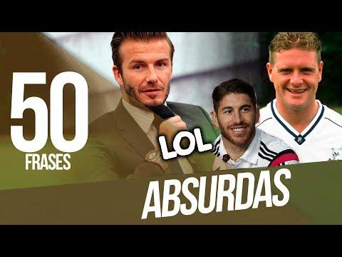 Las 50 FRASES más ABSURDAS del fútbol