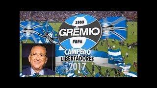 Lanús 1 x 2 Grêmio - Gols e Melhores Momentos GLOBO HD (Narração Galvão Bueno) FINAL LIBERTADORES