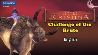 "LITTLE KRISHNA ENGLISH EPISODE 8 ""CHALLENGE OF THE BRUTE"" ANIMATION SERIES"