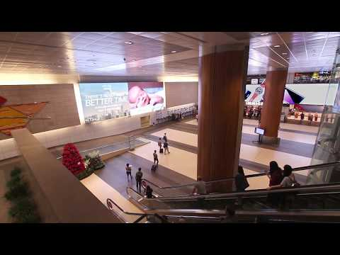 Cisco campaign on Digital Mural in Changi Airport | JCDecaux Singapore