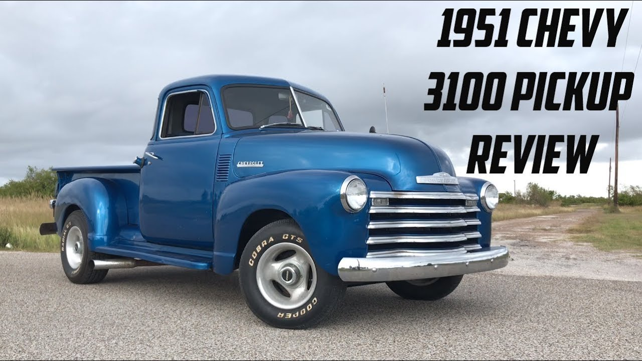 H And H Chevrolet >> 1951 Chevy 3100 Hot Rod Pickup | Review - YouTube