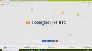 Miner et gagner des bitcoin facilement avec Cryptotab