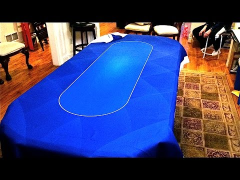 Quick & Easy Poker Table Top - Dye Sublimation Poker Cloth