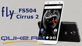 Обзор Fly FS504 Cirrus 2 ◄ Quke.ru ►