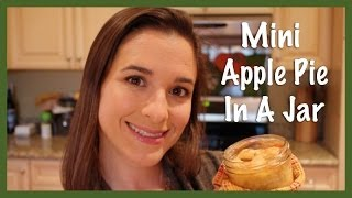 Mini Apple Pie In A Jar (Holiday Baking 2013) Thumbnail