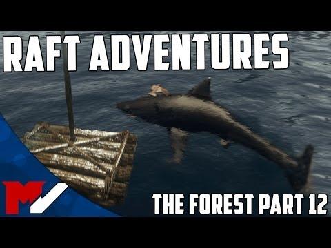 RAFT ADVENTURES - The Forest Survival - Part 12