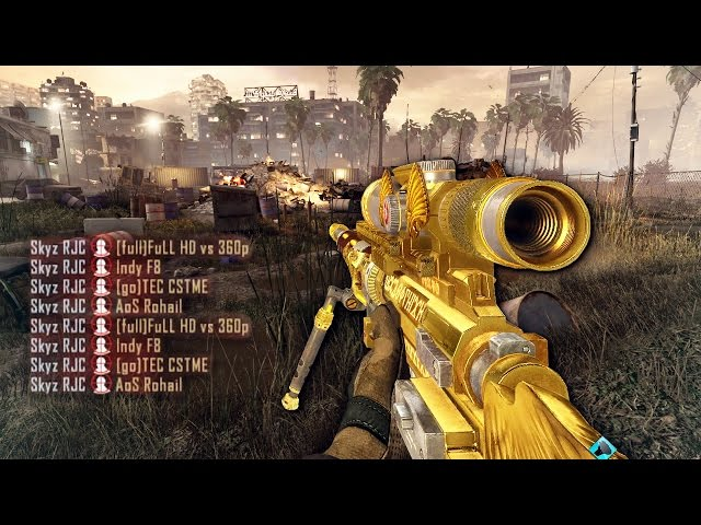 TOP 50 BANGERS IN CALL OF DUTY HISTORY! [BEST EVER SNIPER MONTAGE]