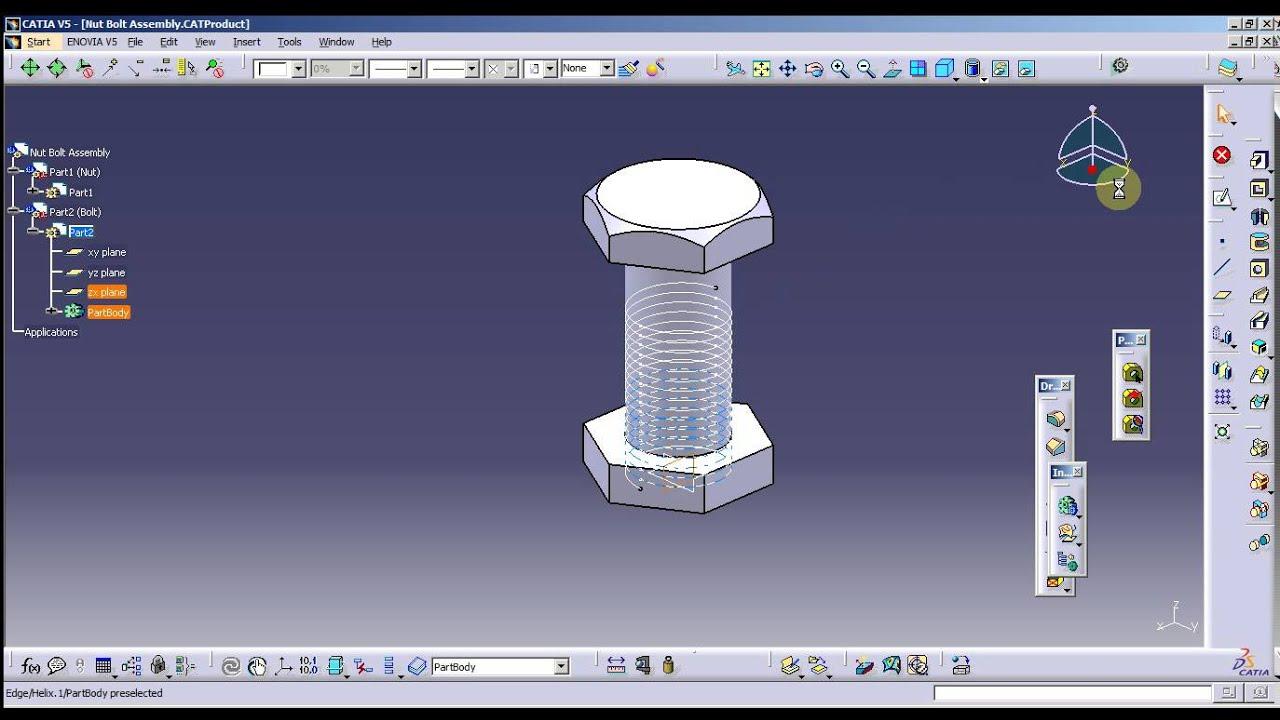catia v5 assembly tutorial pdf