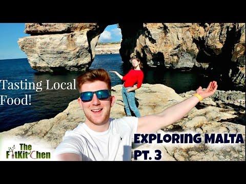 AZURE WINDOW MALTA |  Island Hopping ! | Tasting Local Cuisine