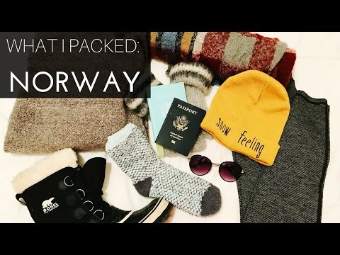 What I Packed For Norway & Travel Tips | As Told By