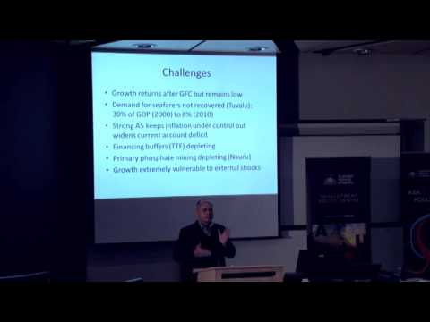Common challenges in microestates: Nauru and Tuvalu: Seve Paeniu