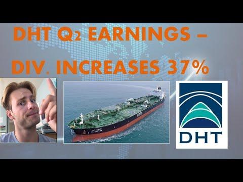 Oil Tanker Earnings: DHT Q2 Analysis; Stock Goes up 5%; Good News For NAT