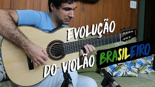Evolution of the Brazilian Guitar (1917 - 1999)