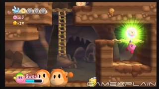 Kirby's Return to Dreamland: 1-4 (Cookie Country, Level 4) - Energy Spheres (Guide, Walkthrough)