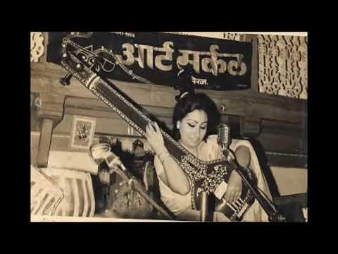 Begum Parveen Sultana   Raga Gujri Todi Live