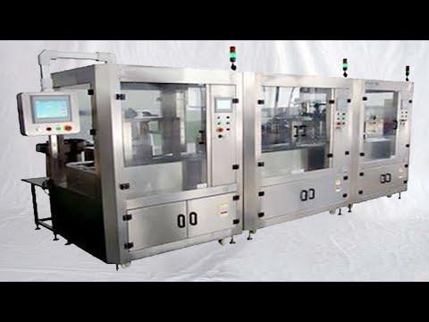 blood collection tubes assembly production line Machine de fabrication tubes collecte de sang