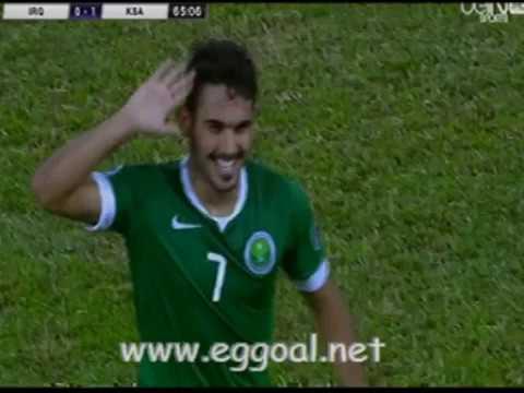 اهداف مباراة العراق و السعودية   كأس امم اسيا تحت 19 سنة 