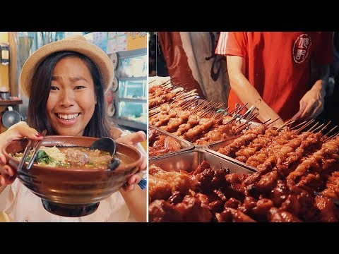 Trying Taiwanese Street Food: Beef Noodles, Bubble Tea, Soup Dumplings & MORE! | Taiwan Travel Vlog