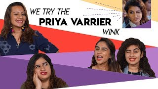Heres Our Attempt At The Priya Varrier Wink