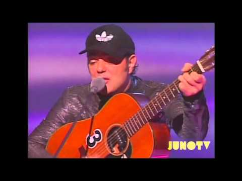 Daniel Lanois' 2002 Induction into the Canadian Music Hall of Fame
