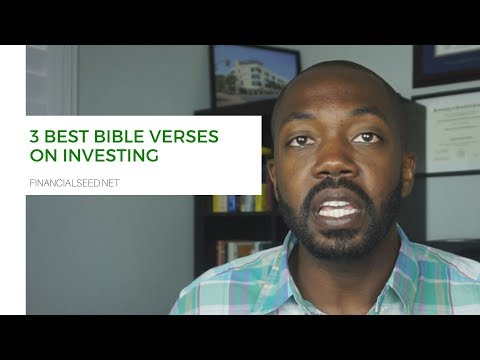 3 Best Bible Verses on Investing - Financial Seeds