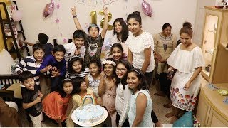 My Daughter's Birthday Party Vlog 2019 🎂🍰 !!! Kids Birthday Party Food, Decoration & Gift Ideas