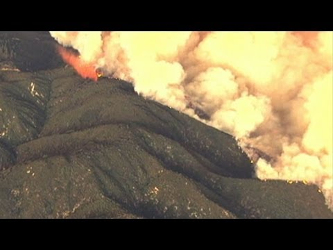 California, New Mexico Wildfires Force Evacuations