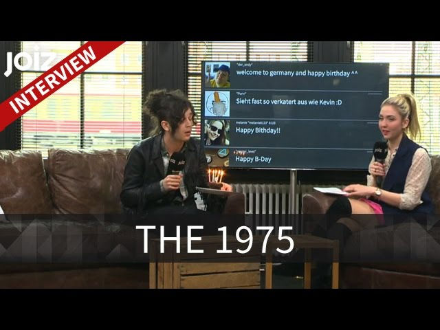Matthew Healy im Birthday-Talk