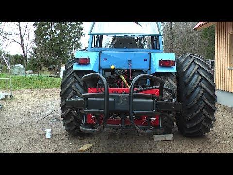 Belarus MTZ-82 New Wheels And Tyres